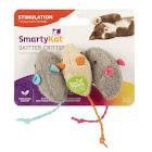 SmartyKat Skitter Critters, Catnip Mice - 3 pack