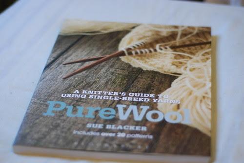 Sue Blacker Natural Fibre Co Pure Wool book cover
