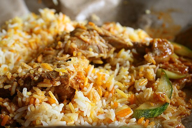 Chicken baryani or briyani