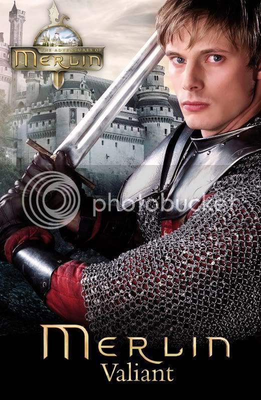 Bradley James as Arthur, Merlin: Valiant TV tie-in