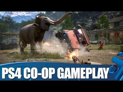 لعبة Far Cry 4 : شاهد 10 دقائق من إسلوب اللعب الجماعى فى اللعبة