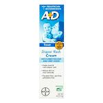 A and D Zinc Oxide Diaper Rash Cream, with Aloe , 4 Oz