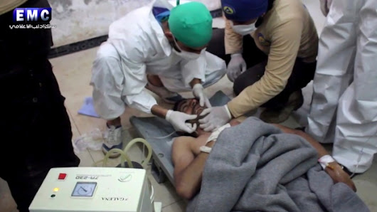 Chemical attack kills at least 58 in Syria