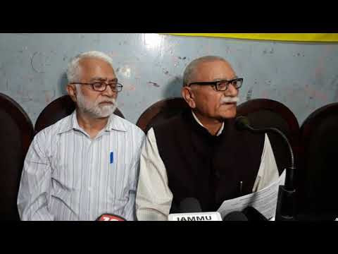 Rashtriya Swayamsevak Sangh Jammu Kashmir Hold Press Conference in Jammu
