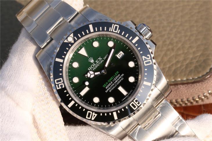 Rolex Sea-Dweller D-Green Dial
