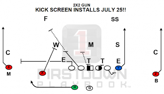 FirstDown PlayBook Installs for July 25-31 - FirstDown PlayBook