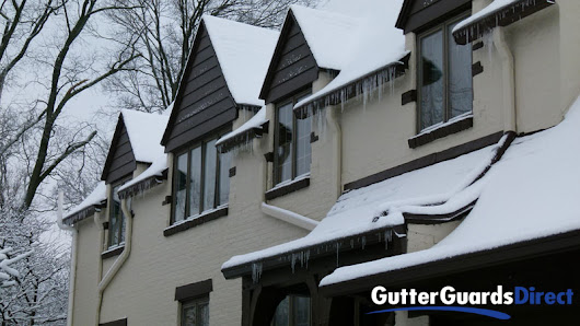 Why Icicles Hanging from your Gutter Guards is Good, Really - GutterTalk Blog