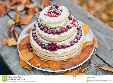 Wedding cake stock photo. Image of carmine, gray, cherry