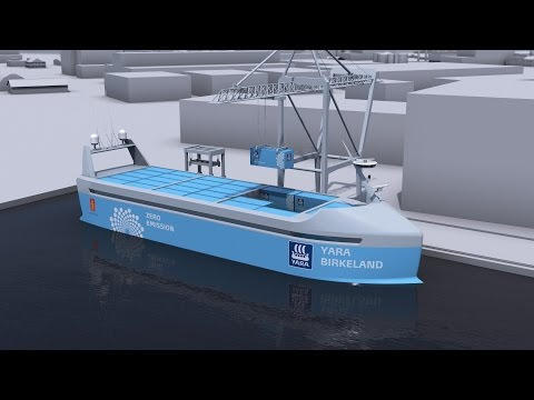 The World's First Electric, Autonomous, Zero-Emissions Ship