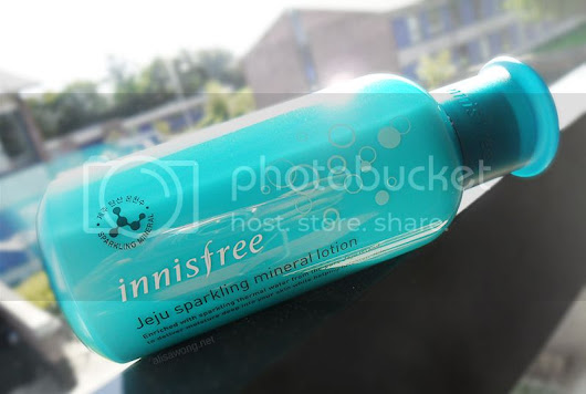Innisfree Jeju Sparkling Mineral Lotion Review