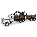 B2bBreplicas ERT46720 Peterbilt Log Truck