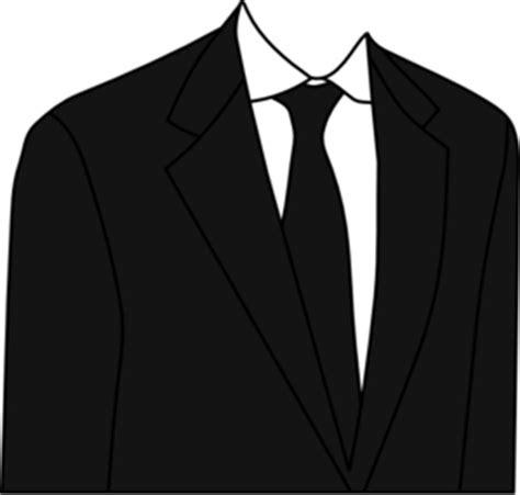 black suit clip art  clkercom vector clip art
