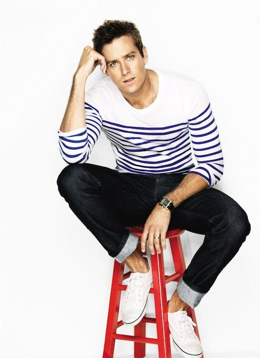 25 Stylish Hot Guys In Stripes -- Armie Hammer -- Jeans and Sneakers -- Mens Style -- Via GQ photo 8-25-Stylish-Hot-Guys-In-Stripes-Armie-Hammer-Jeans-Sneakers-Mens-Style-Via-GQ.jpg