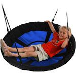 "Swing-N-Slide 40"" Nest Swing Blue"