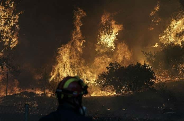 Αποτέλεσμα εικόνας για Βραχάτι φωτιές