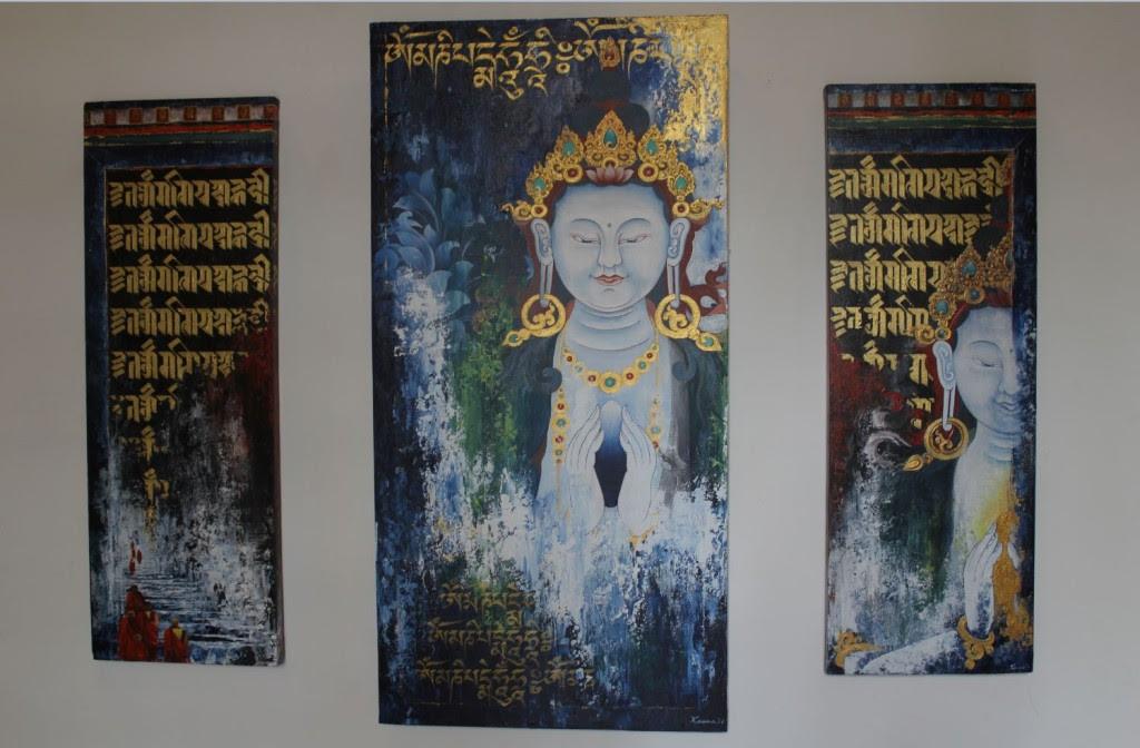Kama Wangdi Artpieces