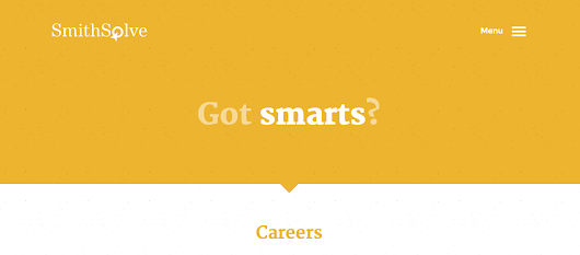 Careers - SmithSolve