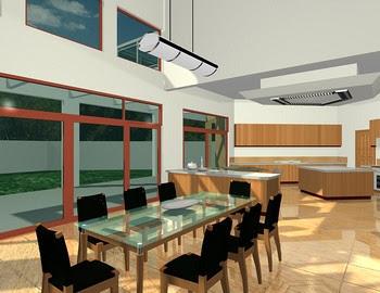 desain rumah mewah minimalislantai slemanyogyakarta