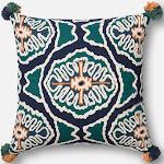 Loloi Pillows P0409 Blue / Teal