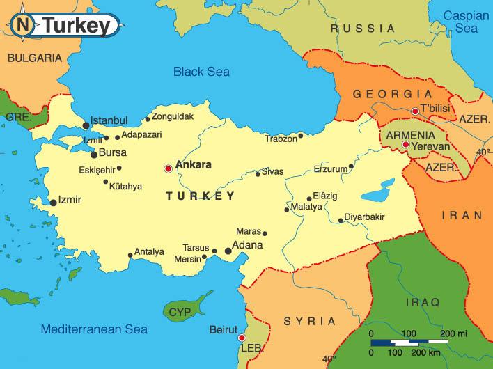 Η Τουρκία στη Μαύρη Θάλασσα