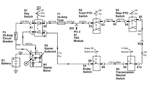 Wiring Diagram Database  John Deere 318 Wiring Diagram