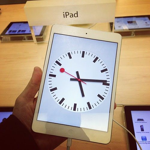 iPad mini Clock $21 Million Dollars! by stevegarfield