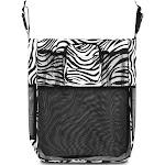 Zodaca Baby Cart Strollers Bag Buggy Pushchair Organizer Basket Storage Bag for Walk Shopping - Zebra