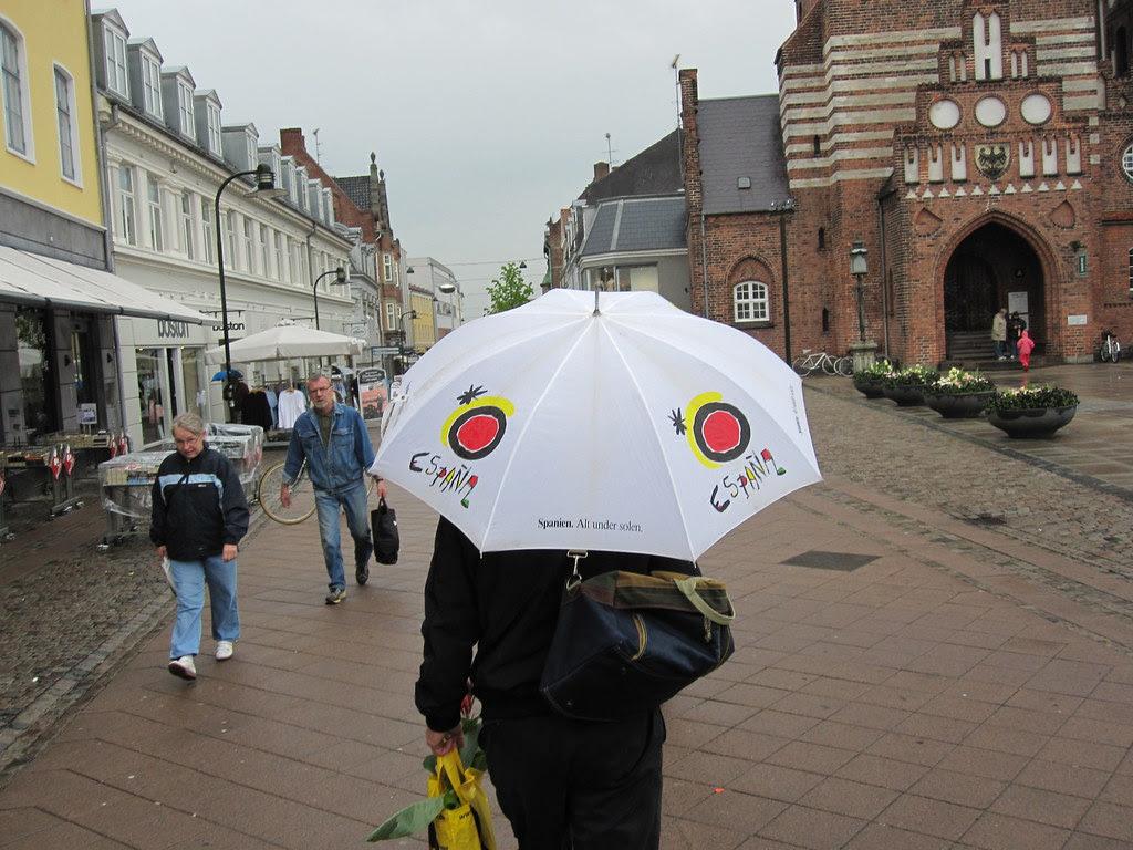 Rain in Roskilde