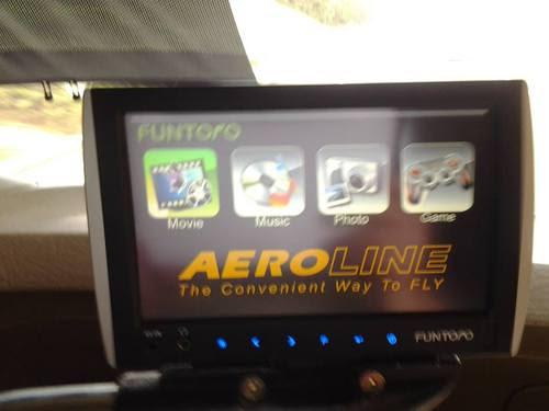 Инфотейнмънт системата в Aeroline