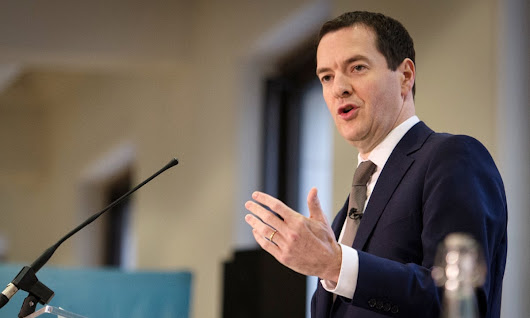 George Osborne warns UK economy faces 'cocktail of threats'