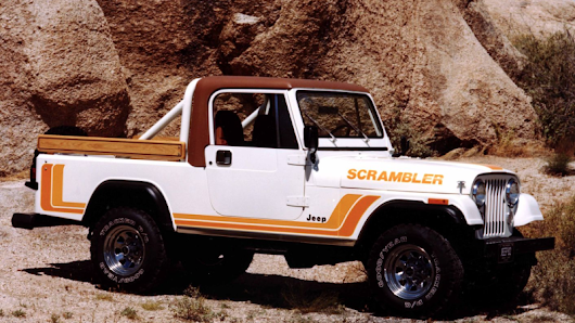 The New Jeep Wrangler Truck Is Called The Jeep Scrambler And It Has A Diesel
