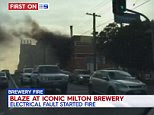 Fire breaks out at Brisbane's XXXX brewery causing peak-hour ...
