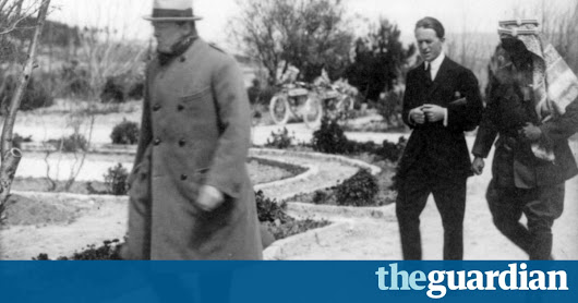 How Churchill helped to shape the Middle East we know today | UK news | The Guardian
