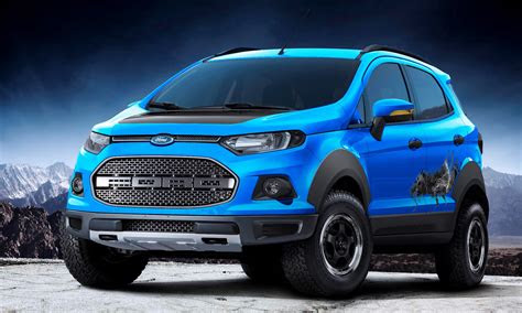 ford ecosport beauty  beast  storm concepts head