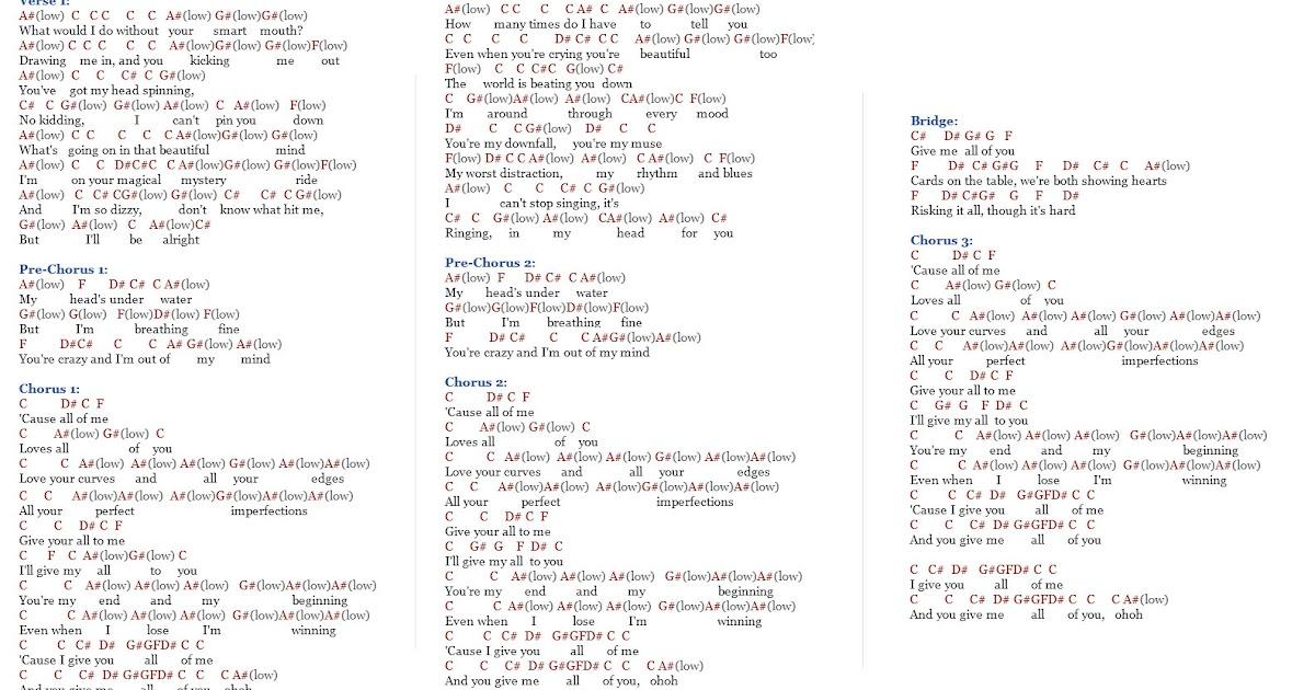 Gogolsg: Download Lagu Piano John Legend All Of Me