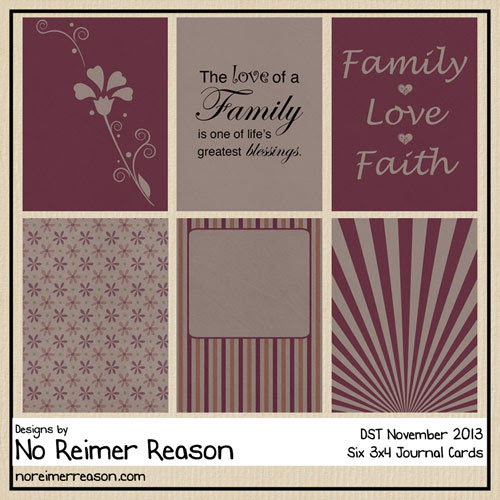 Free Journal Cards for Digital Scrapbooking