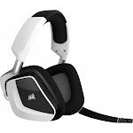 Corsair Void RGB Elite Wireless Premium Gaming Headset with 7.1 Surround Sound - White
