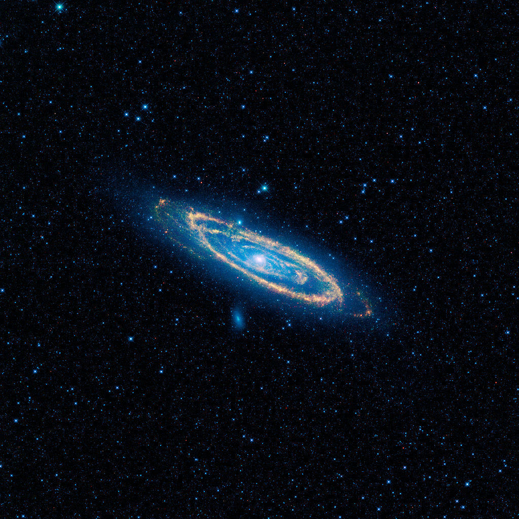 Image result for real andromeda in ultraviolet