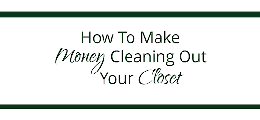 How To Make Money By Cleaning Out Your Closet » Quotation Re:Marks