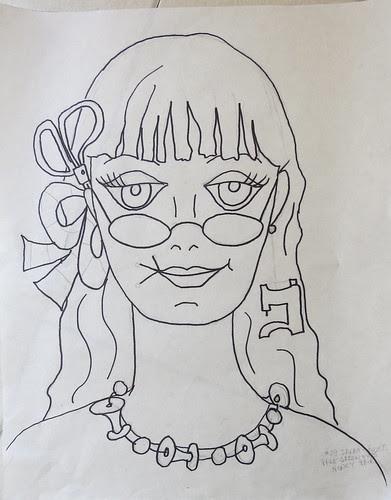 #29 - Sarah - the drawing