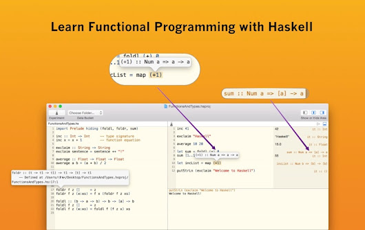 Haskell for Mac IDE — Learn Functional Programming with Haskell