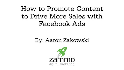 How to Promote Content to Drive More Sales with Facebook Ads