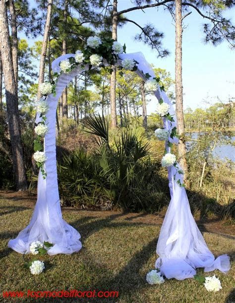 25  best ideas about Wedding Arch Tulle on Pinterest