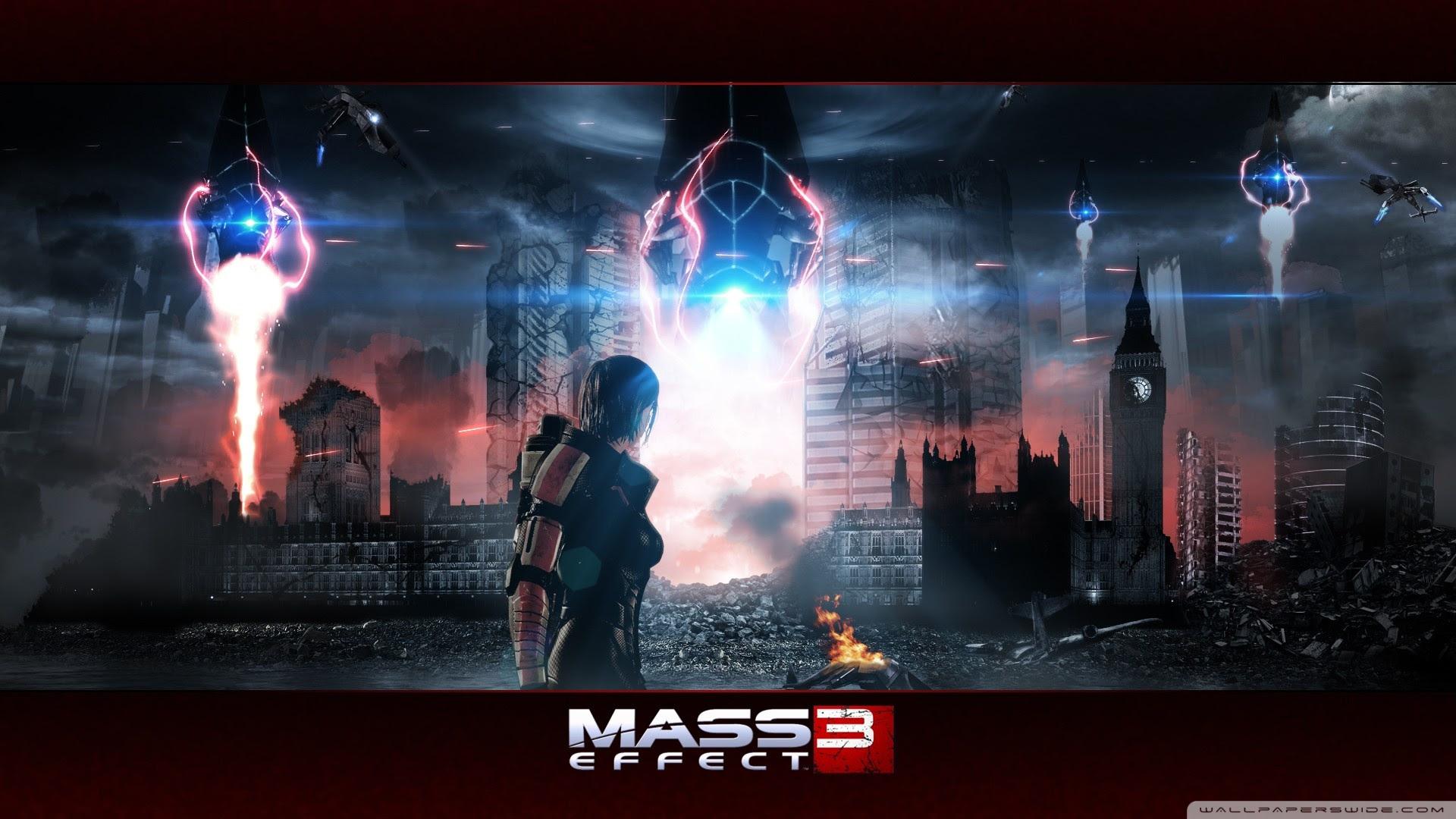 Mass Effect 3 Ultra Hd Desktop Background Wallpaper For 4k Uhd Tv