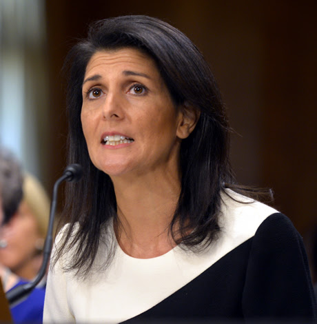 Nikki Haley: U.S. 'disturbed' by gay Chechnya arrests