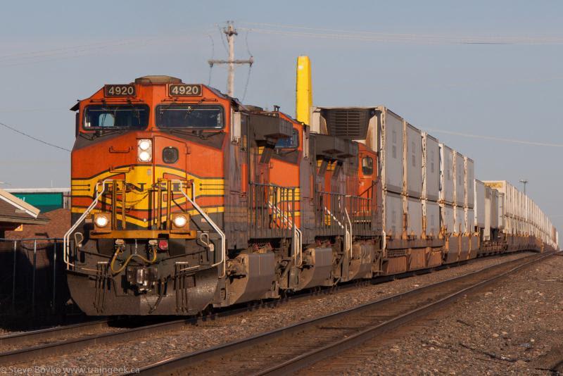 BNSF 4920 in Fargo