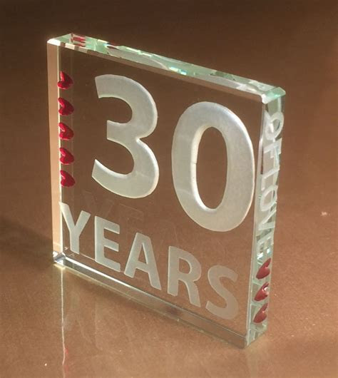 Spaceform 30th Pearl Wedding Anniversary Gifts 30 Years of