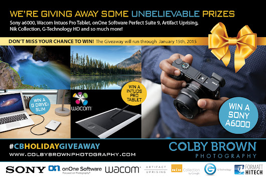 The Colby Brown 2014 Holiday Giveaway