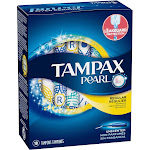 Tampax Pearl Regular Unscented Tampons - 18 count box