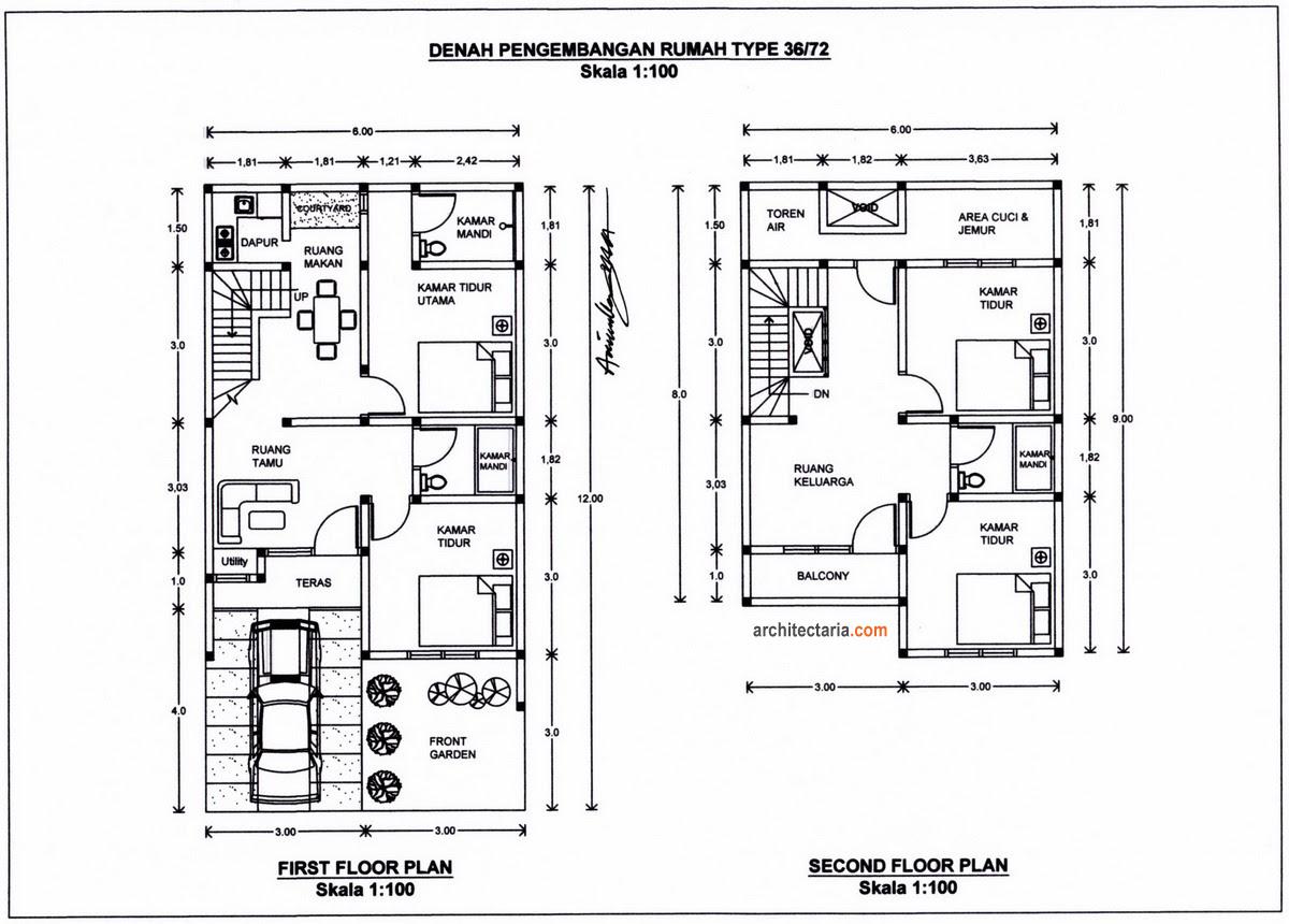 Desain Rumah Minimalis Format Autocad Dshdesign4kinfo
